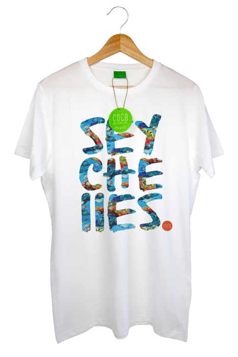 b3a098918e9 Sea Life Print Short Sleeve Organic T-Shirt